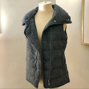 Lou & Grey Charcoal Puffer Vest
